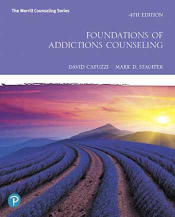 9780135166871-013516687X-Foundations of Addictions Counseling plus MyLab Counseling with Pearson eText -- Access Card Package (Merrill Counseling)