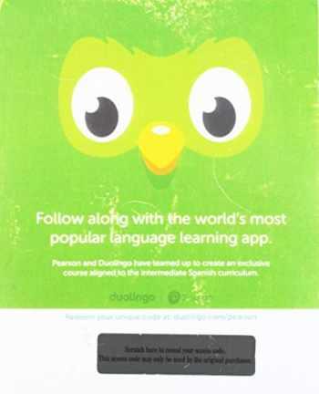 9780134815497-0134815491-Duolingo -- Access Card -- Intermediate Spanish (Single-Semester)