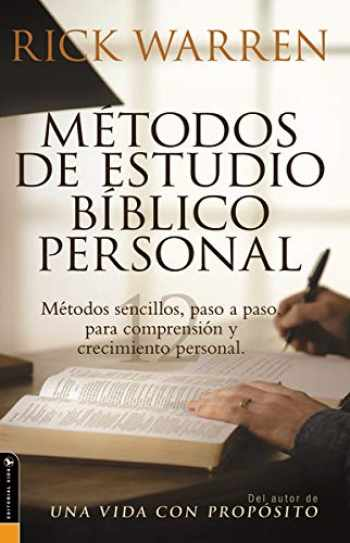9780829745382-0829745386-Metodos De Estudio Biblico Personal (Personal Bible Study Methods: 12 ways to study the Bible on your own) (Spanish Edition)