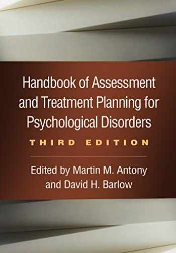 9781462543533-1462543537-Handbook of Assessment and Treatment Planning for Psychological Disorders, Third Edition