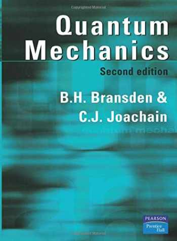 9780582356917-0582356911-Quantum Mechanics (2nd Edition)