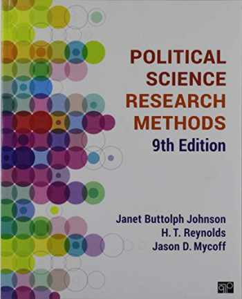 9781544331577-1544331576-BUNDLE: Johnson: Political Science Research Methods, 9e (Paperback) + Mycoff: Working with Political Science Research Methods: Problems and Exercises, 5e