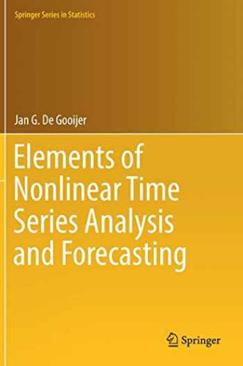 9783319432519-3319432516-Elements of Nonlinear Time Series Analysis and Forecasting (Springer Series in Statistics)