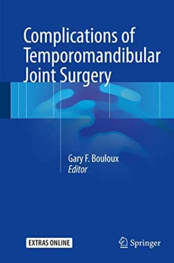 9783319512396-3319512390-Complications of Temporomandibular Joint Surgery