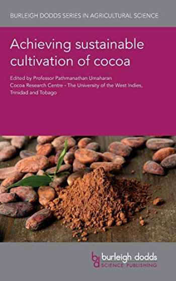 9781786761682-1786761688-Achieving sustainable cultivation of cocoa (Burleigh Dodds Series in Agricultural Science)