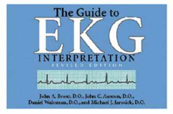 9780821413289-0821413287-The Guide to EKG Interpretation: Revised Edition (White Coat Pocket Guide Series)