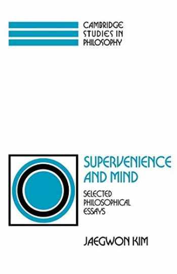 9780521439961-0521439965-Supervenience and Mind (Cambridge Studies in Philosophy)