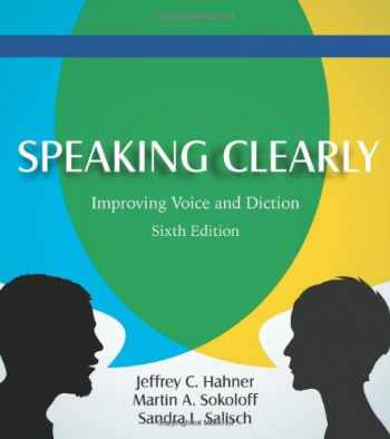 9781478600947-1478600942-Speaking Clearly: Improving Voice and Diction