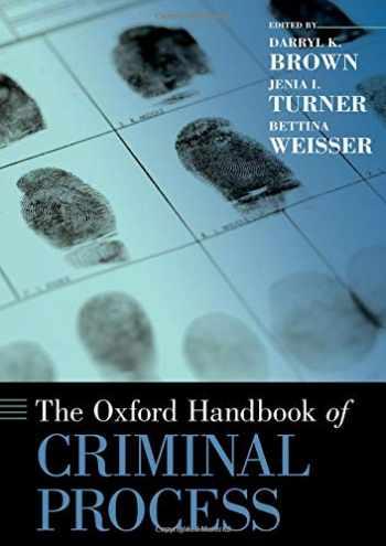 9780190659837-0190659831-The Oxford Handbook of Criminal Process (Oxford Handbooks)