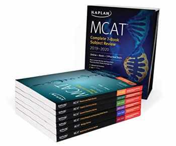 9781506235486-1506235484-MCAT Complete 7-Book Subject Review 2019-2020: Online + Book + 3 Practice Tests (Kaplan Test Prep)