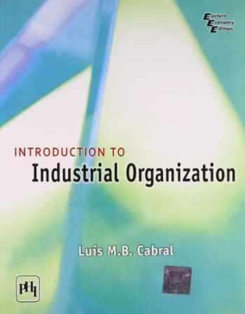 9788120341531-8120341538-Intro. To Industrial Organization