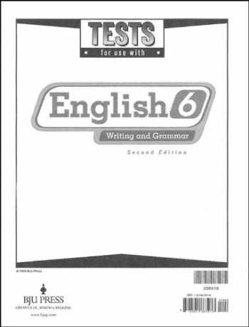 9781591663973-1591663970-English Tests Grd 6 2nd Edition