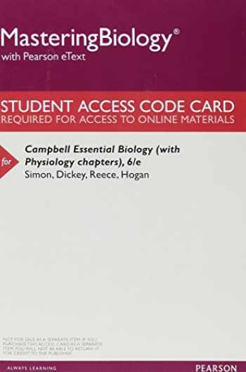 9780134001388-0134001389-Mastering Biology with Pearson eText -- ValuePack Access Card -- for Campbell Essential Biology (with Physiology chapters)
