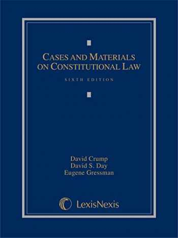 9781630430566-1630430560-Cases and Materials on Constitutional Law (2014)