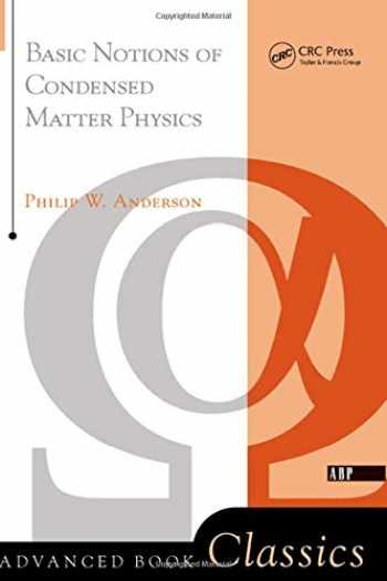 9780201328301-0201328305-Basic Notions Of Condensed Matter Physics (Advanced Books Classics)