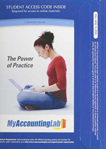 9780132829441-0132829444-NEW MyLab Accounting with Pearson eText -- Access Card -- for Managerial Accounting: Decision Making and Motivating Performance, 1/e