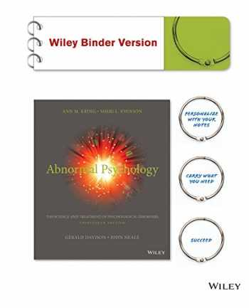 9781118953983-1118953983-Abnormal Psychology: The Science and Treatment of Psychological Disorders