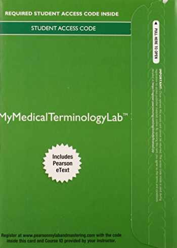9780133936230-0133936236-MyLab Medical Terminology with Pearson etext - Access Card - Medical Terminology A Living Language