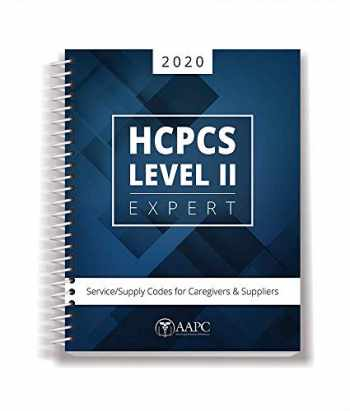 9781626887541-1626887543-2020 HCPCS Level II Expert: Service/Supply Codes for Caregivers & Suppliers (AAPC)