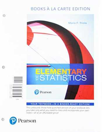 9780134442136-013444213X-Elementary Statistics, Books A La Carte Edition Plus MyLab Statistics with Pearson eText -- Access Card Package