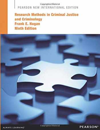 9781292041742-1292041749-Research Methods in Criminal Justice and Criminology: Pearso