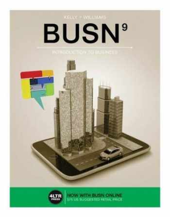 9781305497320-1305497325-BUSN (with BUSN Online, 1 term (6 months) Printed Access Card) (New, Engaging Titles from 4LTR Press)