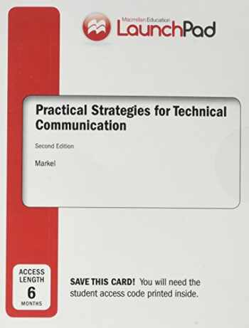 9781319018191-131901819X-LaunchPad for Practical Strategies for Technical Communication (Six Month Access)
