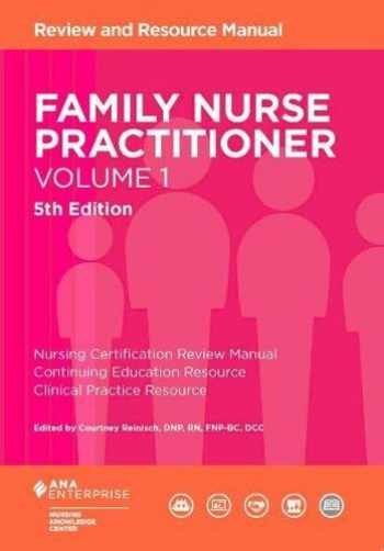 9781935213901-1935213903-Family Nurse Practitioner, Volume 1: Review and Resource Manual