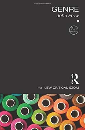 9781138020580-1138020583-Genre (The New Critical Idiom)