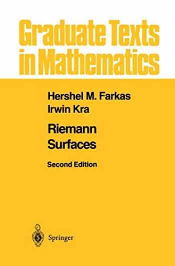 9781461273912-1461273919-Riemann Surfaces (Graduate Texts in Mathematics (71))