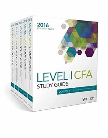 9781119182795-1119182794-Wiley Study Guide for 2016 Level I CFA Exam: Complete Set