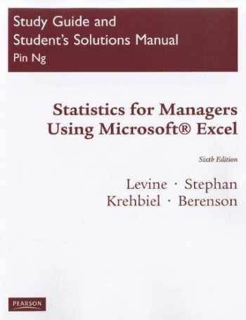 9780137035250-013703525X-Statistics for Managers: Using Microsoft Excel