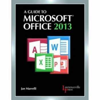 9780821965610-0821965611-A Guide to Microsoft Office 2013