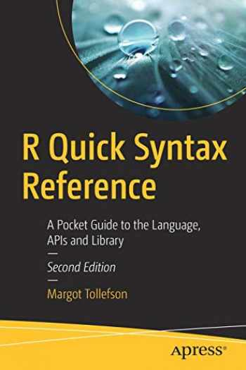 9781484244043-1484244044-R Quick Syntax Reference: A Pocket Guide to the Language, APIs and Library