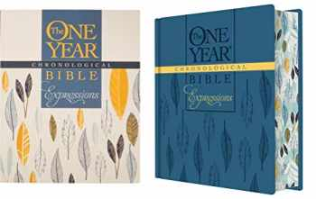 9781496420176-1496420179-The One Year Chronological Bible Expressions, Deluxe (Hardcover, Blue)