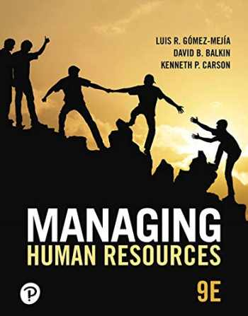 9780135196007-0135196000-MyLab Management with Pearson eText -- Access Card -- for Managing Human Resources