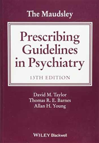 9781119442608-1119442605-The Maudsley Prescribing Guidelines in Psychiatry