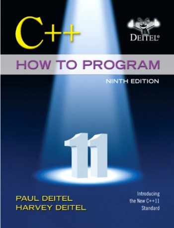 9780133378719-0133378713-C++ How to Program (Early Objects Version) (9th Edition)