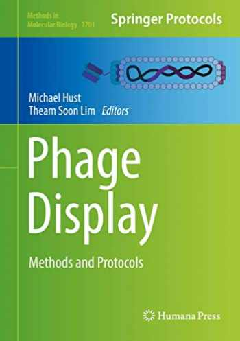 9781493974467-1493974467-Phage Display: Methods and Protocols (Methods in Molecular Biology (1701))