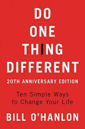 9780062890504-0062890506-Do One Thing Different, 20th Anniversary Edition: Ten Simple Ways to Change Your Life