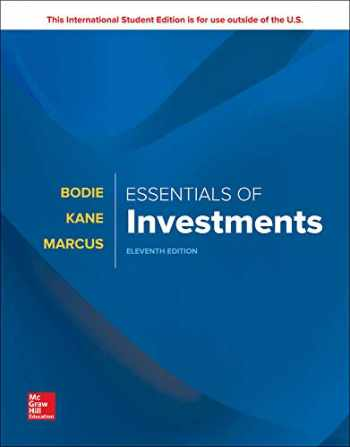 9781260288391-1260288390-ISE Essentials of Investments