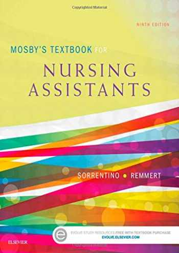 9780323319744-0323319742-Mosby's Textbook for Nursing Assistants - Soft Cover Version
