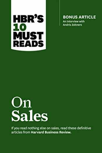 9781633693272-1633693279-HBR's 10 Must Reads on Sales (with bonus interview of Andris Zoltners) (HBR's 10 Must Reads)