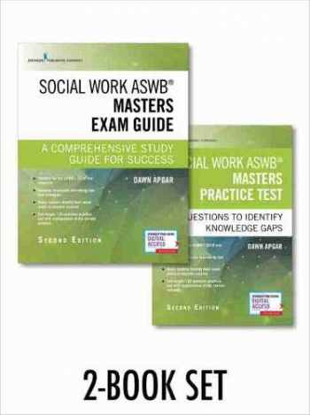 9780826147844-0826147844-Social Work ASWB Masters Exam Guide and Practice Test, Second Edition Set - Includes a Comprehensive LMSW Study Guide and Practice Test Book with 170 Questions, Free Mobile and Web Access Included