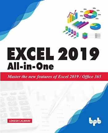 9789388511582-9388511581-Excel 2019 All-in-One: Master the new features of Excel 2019 / Office 365