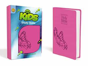 9780310747918-0310747910-KJV, Kids Study Bible, Leathersoft, Pink