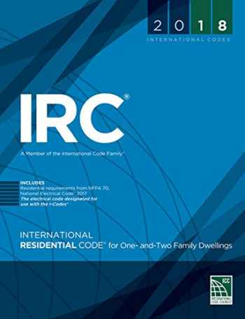 9781609837372-1609837371-2018 International Residential Code for One- and Two-Family Dwellings (International Code Council Series)
