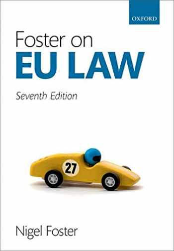 9780198839804-0198839804-Foster on EU Law