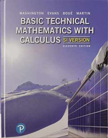 9780134289915-0134289919-Basic Technical Mathematics with Calculus, SI Version
