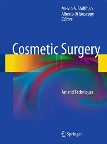 9783642218361-3642218369-Cosmetic Surgery: Art and Techniques